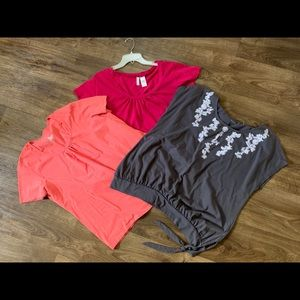 3/$14 women plus size tops